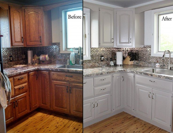 How To Kitchen Cabinets Refinish