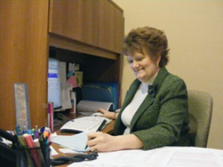 Sharon Polm - Office Manager